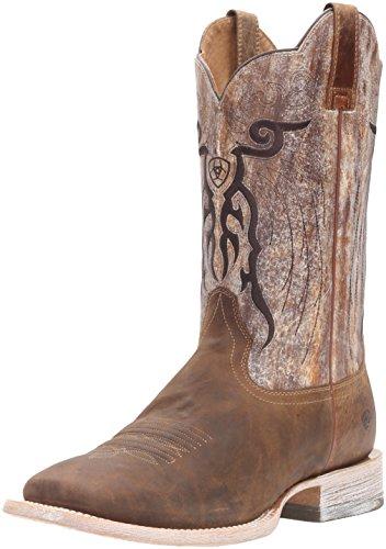 Ariat Men's Mesteno Western Cowboy Boot, Dust Devil Tan/Marble, 13 D US