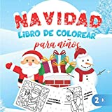 Navidad Libro de Colorear para niños: ¡Feliz Navidad! 30 ilustraciones únicas para colorear a partir de 2 años para pequeños - Libro de Navidad para ... | 21,6x27,9cm | 8,5 x 11' | IDEA DE REGALO