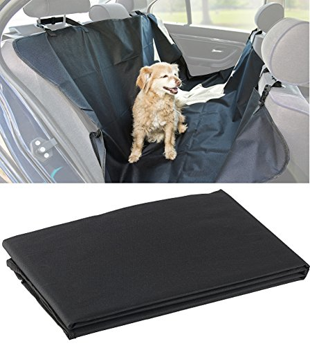 Sweetypet Auto Hundedecke: Auto-Schondecke für Hunde, für Rückbank & Kofferraum, 145 x 145 cm (Hunde Schondecke Auto Rücksitz)