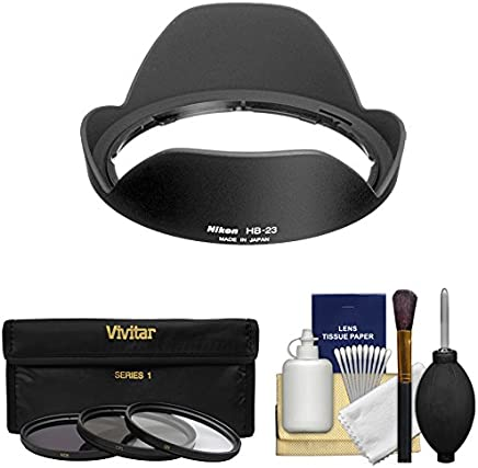 JW HB-23 Replacement ABS Lens Hood Shade for Nikon AF-S DX Nikkor 10-24mmf//3.5-4.5G ED//Nikon AF-S Nikkor 16-35mm f//4G ED VR//Nikon AF 18-35mmf//3.5-4.5D IF-ED//Nikon AF-S 17-35mmf//2.8D IF-ED Lenses