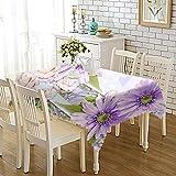 DREAMING-Mantel De Tela Impresa Engrosada Mantel De Mesa Para El Hogar Mueble De Tv Tela De Mesa De Café Mantel De Mesa Redonda 140cm * 220cm