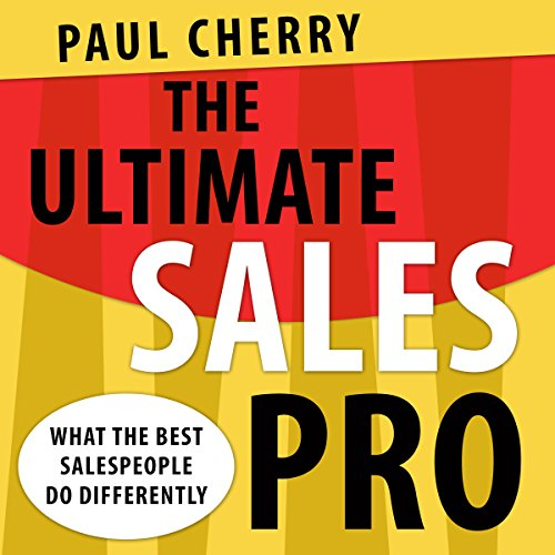 The Ultimate Sales Pro audiobook cover art