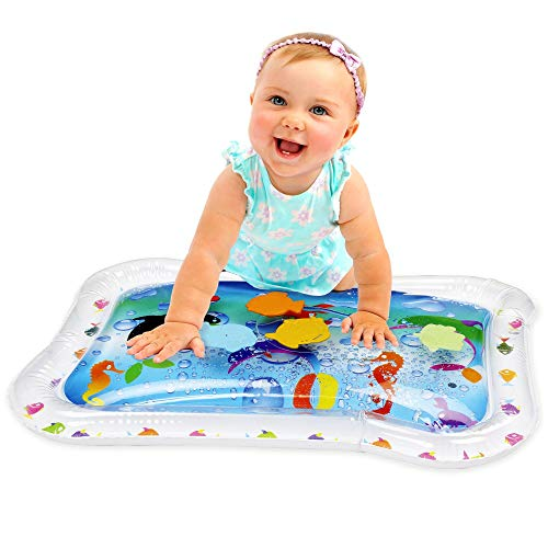 Kleeger Inflatable Baby Water Mat: Fun Activity Play Center. For Children And...