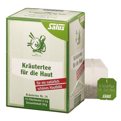 Salus Kräutertee für die Haut Nr. 14, 15 St. Filterbeutel