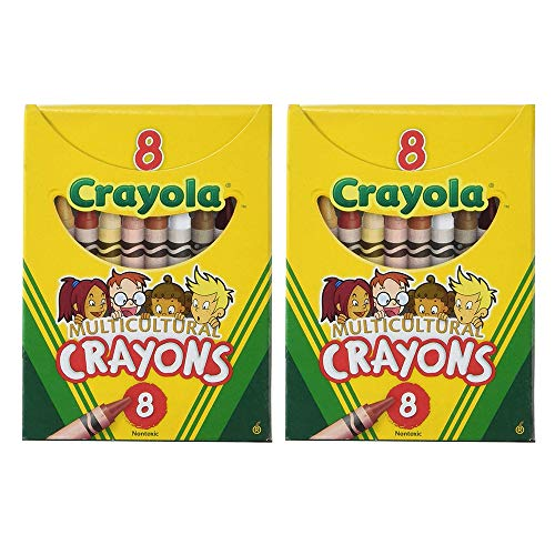 Crayola Multicultural Crayons (Pack of 2)