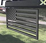 3D American Flag Emblem Decal Cut-Out,Subdued American Flags Tactical Military Flag USA Decal 5