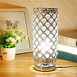 Lampe de Table en Cristal, abat-jour Lampe de chevet, Cristal de Mode Créatif Lampe...