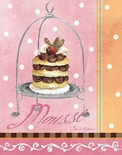 AFDRUKKEN-op-GEROLDE-CANVAS-Pink-Mousse-Gladding-Pamela-Voedsel-Afbeelding-gedruckt-op-canvas-100%-katoen-Opgerolde-canvas-print-Kunstdruk-op-gerold-canvas-Afmeting-71_X_55_cm