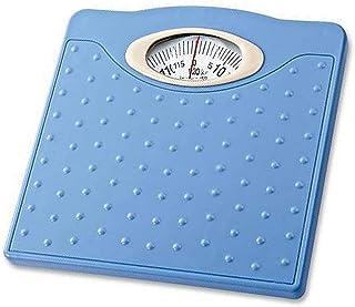 HXCD Báscula de baño mecánica, Báscula de dial giratoria mecánica de precisión, Báscula de Peso de precisión, Báscula de Salud Corporal con Resorte, 264 lbs (120 kg)