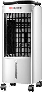 GGYMEI-Aire acondicionado portátil Control Remoto Integración De Frío Y Calor. Refrigerador De Aire Móvil Interior, Material Plástico, Tanque De Agua De 5L (Color : White, Size : 31.5x29.5x65.5cm)