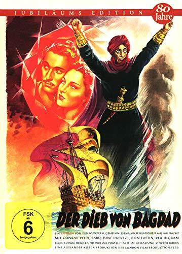 Der Dieb von Bagdad - Mediabook Cover C - limitiert auf 444 Stück (+ Booklet) [Blu-ray]