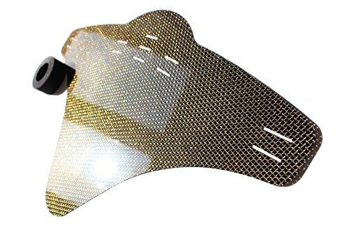 JOllify Carbon Mud Guard Fender für MTB Mountainbike – CARBON GELB-GOLD - #507