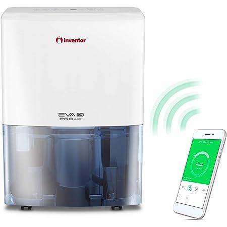 Inventor EVA ION Pro WiFi EP3-WiFi 20L /24H, Déshumidificateur d'air, Ioniseur, Sèche-Linge, Minuterie, Drainage Continu Technologie Intelligente Wi-FI, Redémarrage Auto, Garantie de 2 Ans