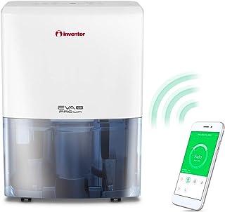 Deshumidificador Inventor EVA ION PRO WiFi 20 litros/día - Con Acceso Remoto, Ionizador, Filtro HEPA y Filtro de Carbón Ac...