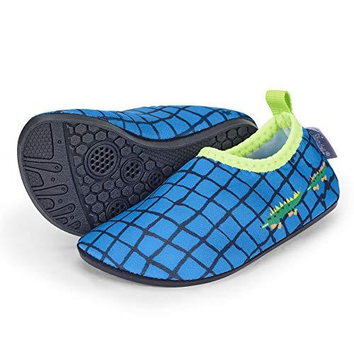 Sterntaler Baby - Jungen Aqua-Schuhe mit rutschfester Sohle, Farbe: Blau, Größe: 25/26, Alter: 3-4 Jahre, Art.-Nr.: 2512111