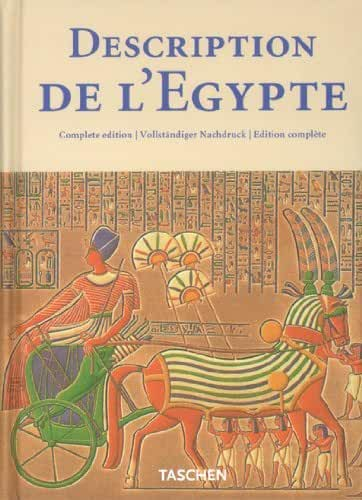 Description de l'Egypte: Publiee par les ordres de Napoleon Bonaparte (Klotz) (English, French and German Edition) by Gilles Neret (2002-09-01)