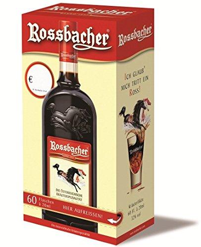 Rossbacher Kräuterlikör Spender 60x 0,02l