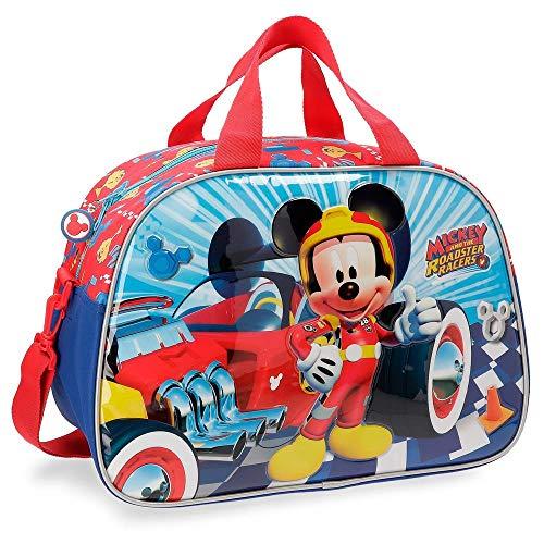 Disney Mickey Winner Sac de Voyage Multicolore 40x28x22 cms Polyester 24.64L