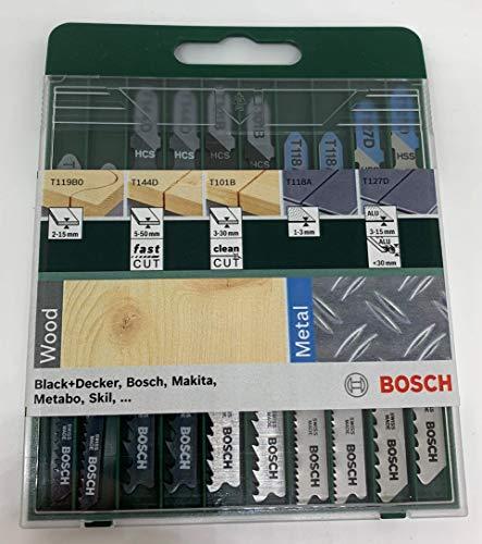 Bosch 2 609 256 746 - Juego de hojas de sierra de calar de 1