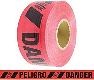 Reinforced Barricade Tape Danger/Peligro 3