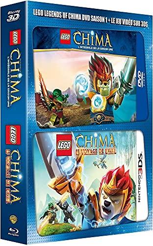 Coffret lego chima, saison 1 ; lego chima le jeu 3ds [FR Import]