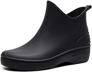 ZOSYNS Dameslaarzen, waterdicht, Chelsea laarzen, rubberen laarzen, antislip, regenlaarzen, dames, outdoorschoenen, maat 3...