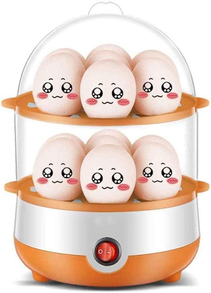 Eummit egg boiler Popular overseas Dealing full price reduction Egg Boiler Timer Stai Double-Layer Cooker
