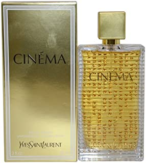 Yves Saint Laurent Cinema Eau De Parfum Spray for Women, 3 Ounce