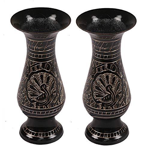 Brass Flower Vase - 8