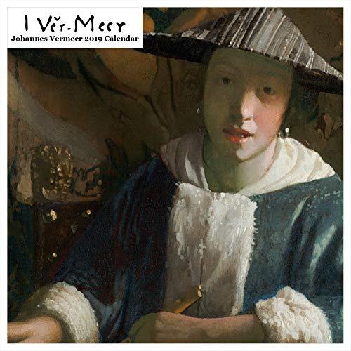Retrospect Group Johannes Vermeer 2019 Square Calendar (YS 1025)