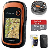 Garmin eTrex 20x Handheld GPS (010-01508-00) with 32GB Accessory Bundle Includes, 32GB Memory Card, LED...