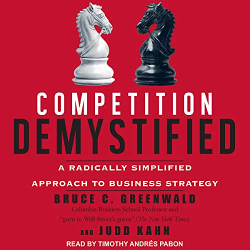 Competition Demystified audiobook cover art