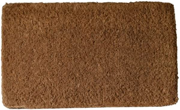 Imports D Cor Coir Doormat Plain Coco 18 Inch By 30 Inch