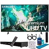 Samsung UN75RU8000 75' RU8000 LED Smart 4K UHD TV (2019) w/Soundbar Bundle Includes, Deco Gear Home Theater...