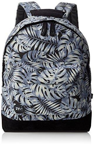 Mi-Pac Premium Print Backpack Mochila Tipo Casual, 41 cm, 17 litros, Tropical Grey