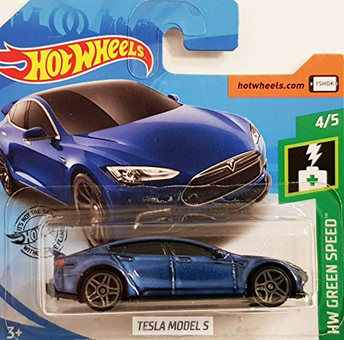 Hot.Wheels Tesla Model S - 1:64 - Nachtblau Metallic