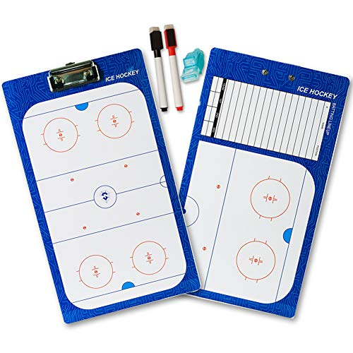 shinestone Dry Erase Board für Coaching – beidseitigen Boards Multisport Techniken, Fußball, Volleyball , Basketball, Eishockey, Fußball, Baseball Ice hockey