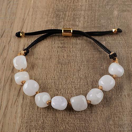 Tassel kralen armband labradoriet verstelbare armband natuursteen vrouwen armband meisje steen armband