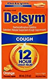 Delsym Adult Cough Suppressant Liquid, Orange Flavor, 3 Ounce