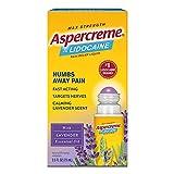 Aspercreme Essential Oils Lidocaine Pain...