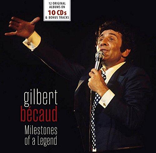 Gilbert Becaud Milestones of a Legend - 12 Original Albums