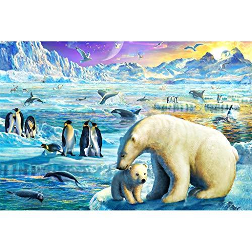 Meterr Actualizar 1.000 Piezas del Rompecabezas for niños y Adultos - congelado Polo Norte