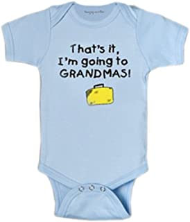 World-Accents Blue That's It, I'm Going to Grandmas! Infant One Piece Bodysuit