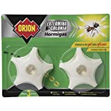 Orion - Cebo en Gel para Eliminar Colonias de Hormigas - Pack de 2 Cebos