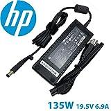 New Genuine HP 135 Watt AC Power Adapter With Cord 592491-001