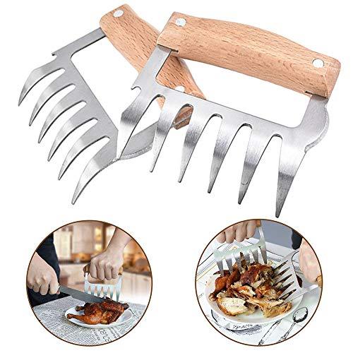 carne garras de oso tenedores de barbacoa meat...