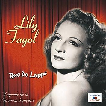 """Rue de Lappe (Collection """"Légende de la chanson française"""")"""