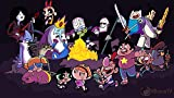 Adventure Time Steven Universe The Grim Adventures Of Billy And Mandy Powerpuff Girls Poster Size : 12 x 18 Inch Rolled and Packed in a Solid cardboard tube to with double protection sheet to prevent from any external damage. Ready to be Framed, Prem...