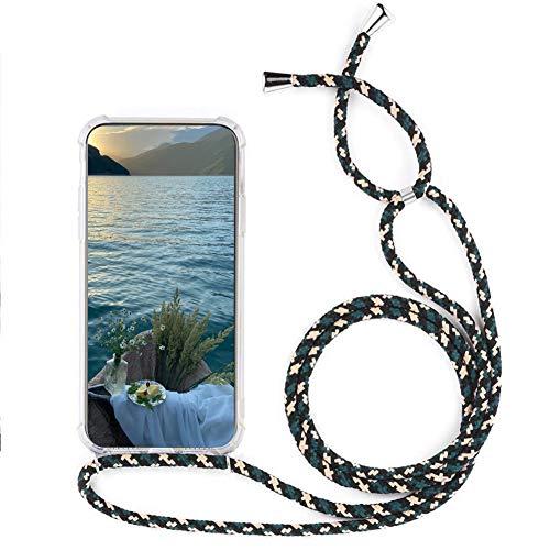 MXKOCO Funda con Cuerda para Nokia 5.4 Carcasa de movil con Cuerda para Colgar-Funda con Correa para Hombro y Cordón Colgante/Carcasa Banda con Cordon para Llevar en el Cuello