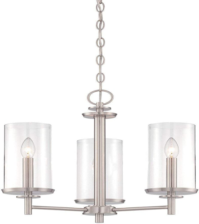 Designers Fountain 87283-SP Harlowe 3 Light Chandelier